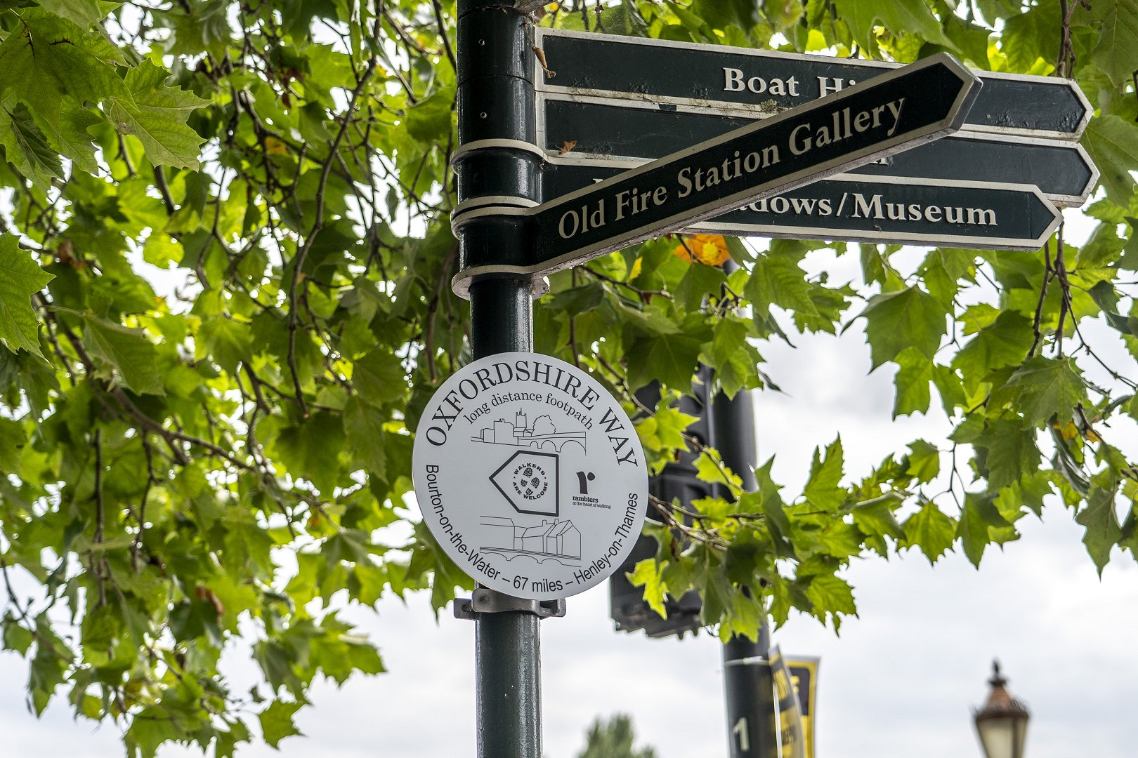 Oxfordshire Way Markers Unveiled